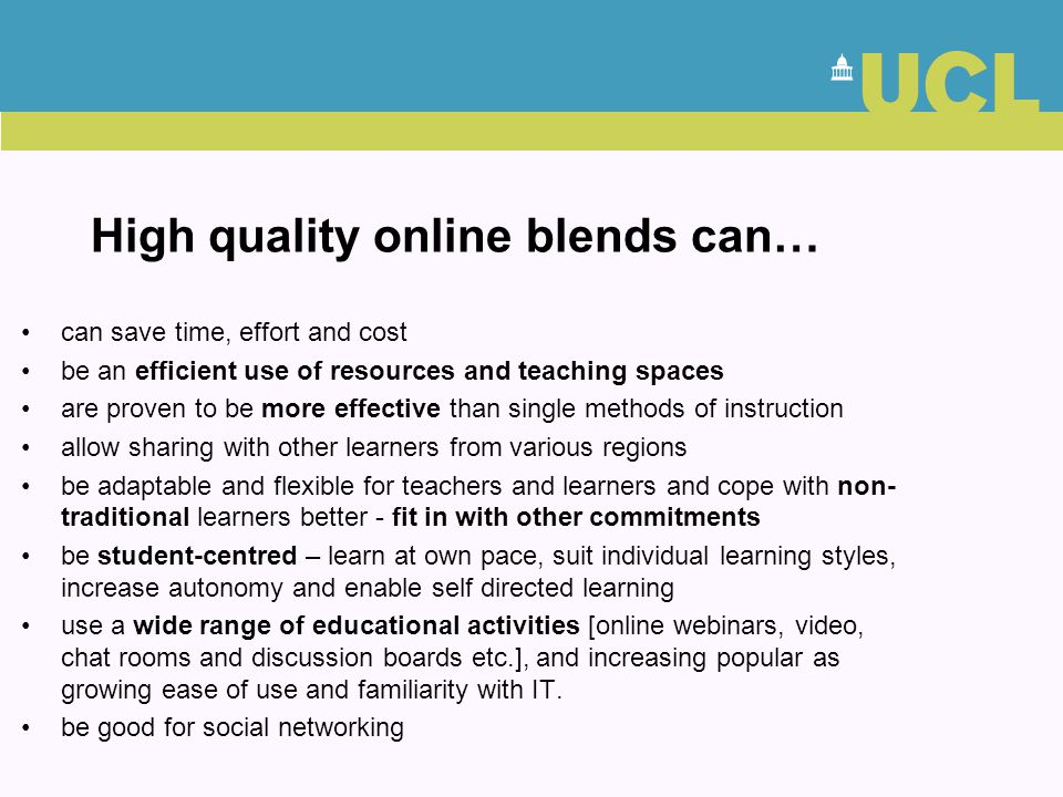 High quality online blends can…