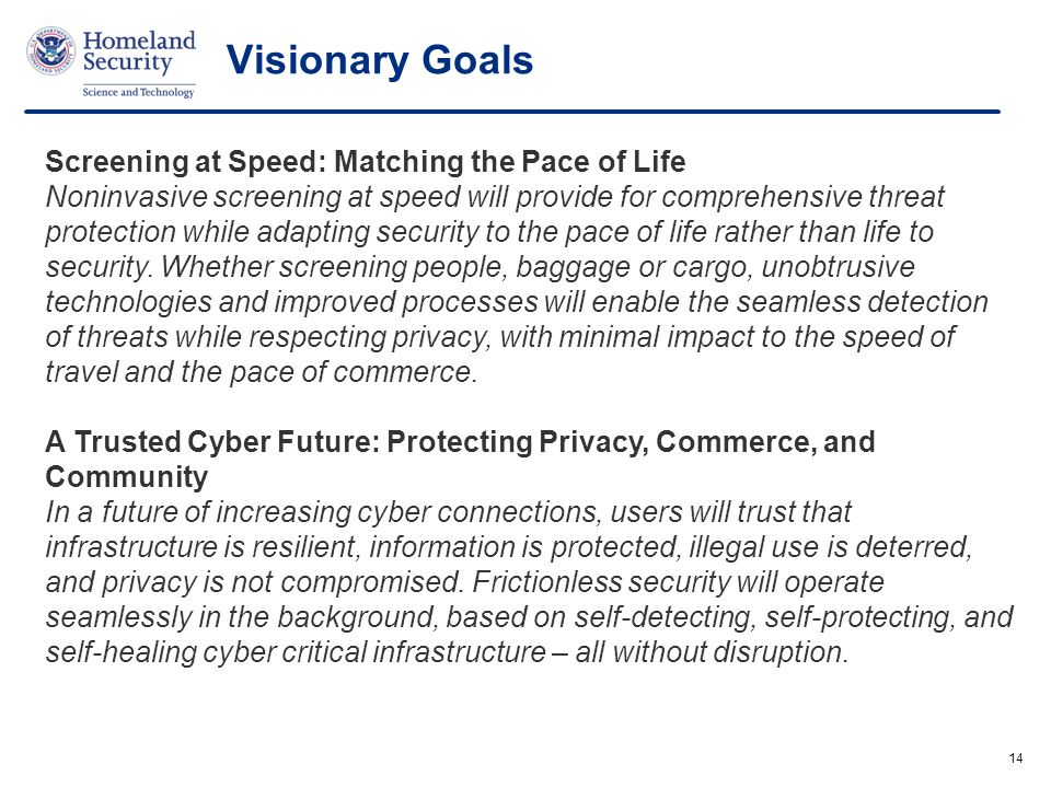 Visionary Goals Screening at Speed: Matching the Pace of Life