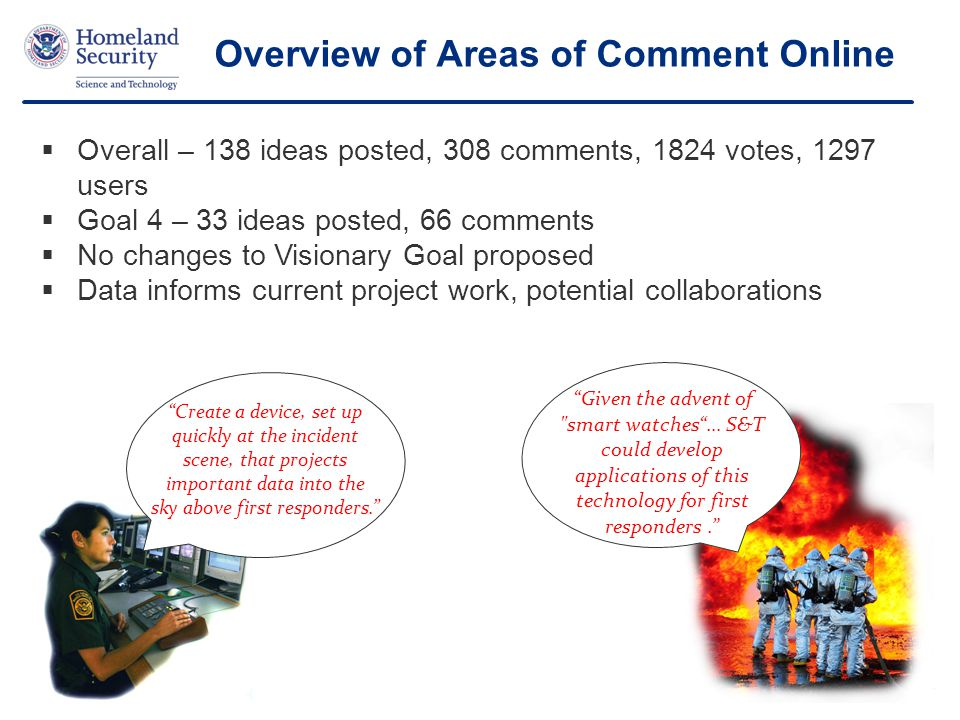 Overview of Areas of Comment Online