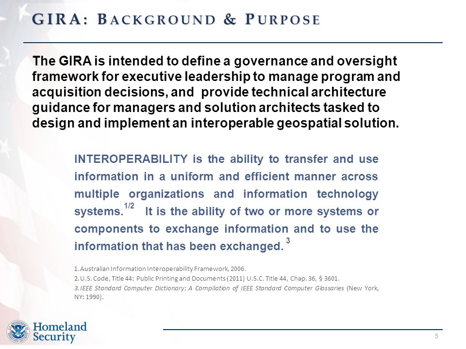 GIRA: Background & Purpose