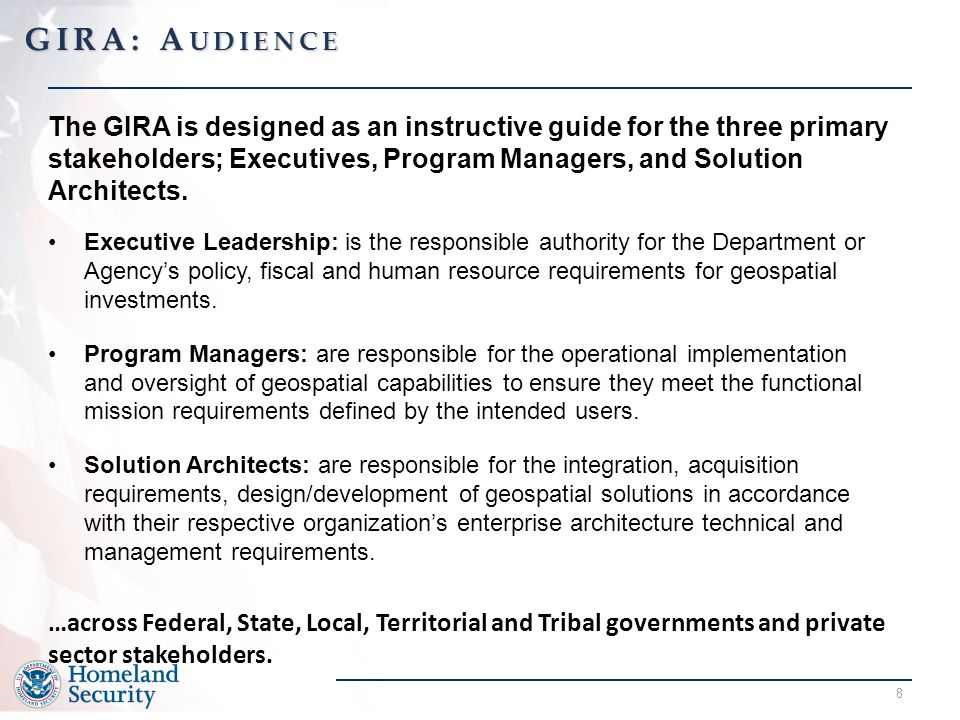 GIRA: Audience