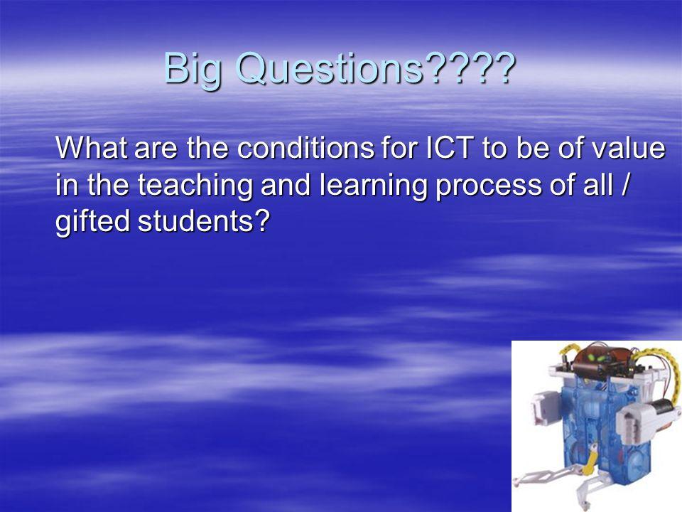 Big Questions .