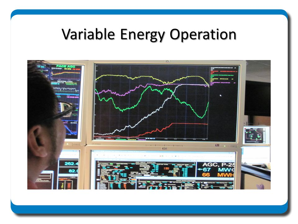 Variable Energy Operation