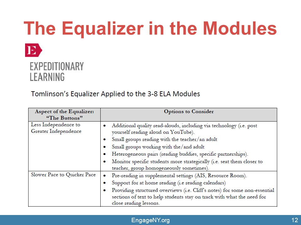 The Equalizer in the Modules