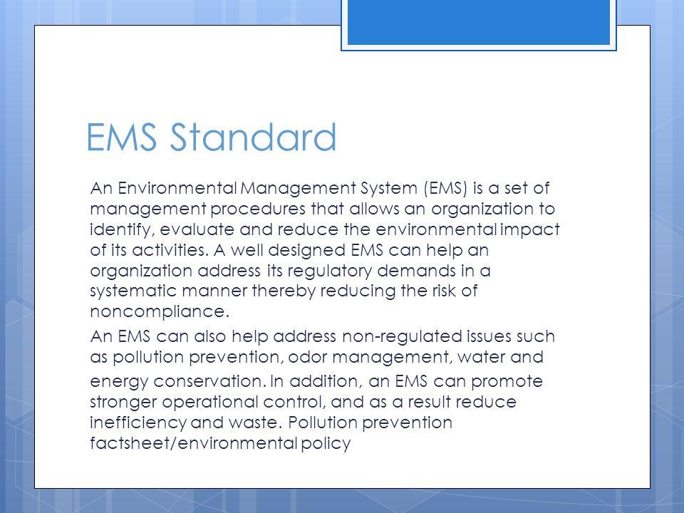 EMS Standard