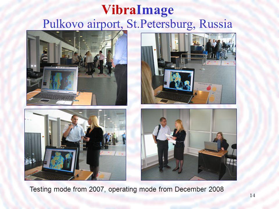 VibraImage Pulkovo airport, St.Petersburg, Russia