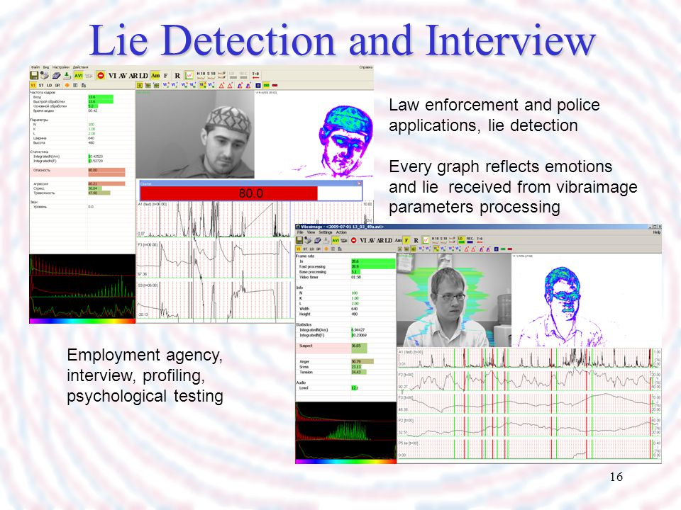 Lie Detection and Interview