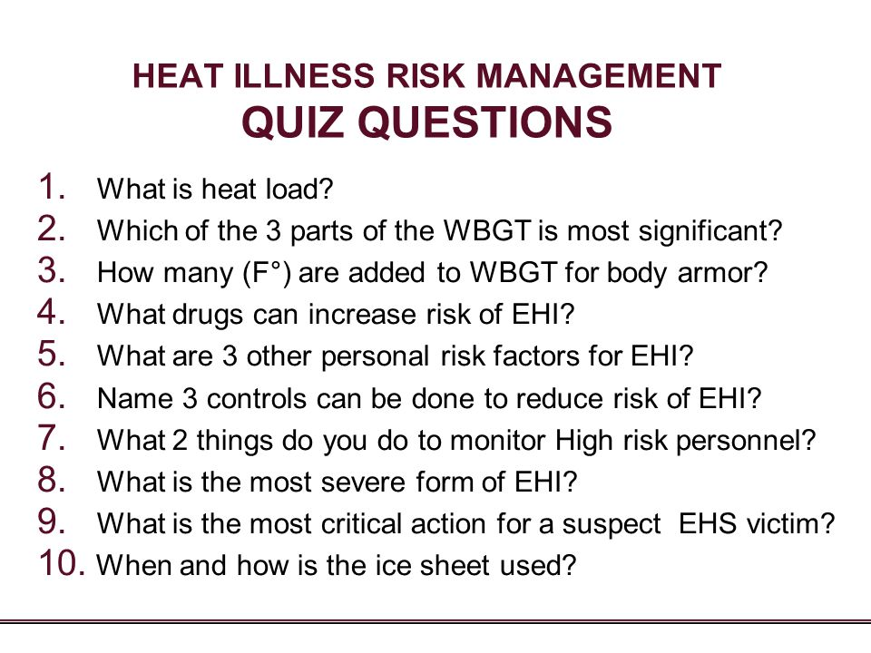 risk management questions Here is a list of sample questions which would help you to understand the pattern of questions on project risk management being asked in pmp certification exams.