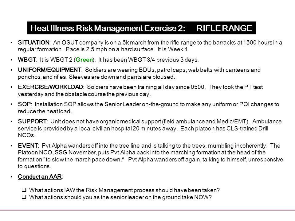 Heat Illness Risk Management - ppt download