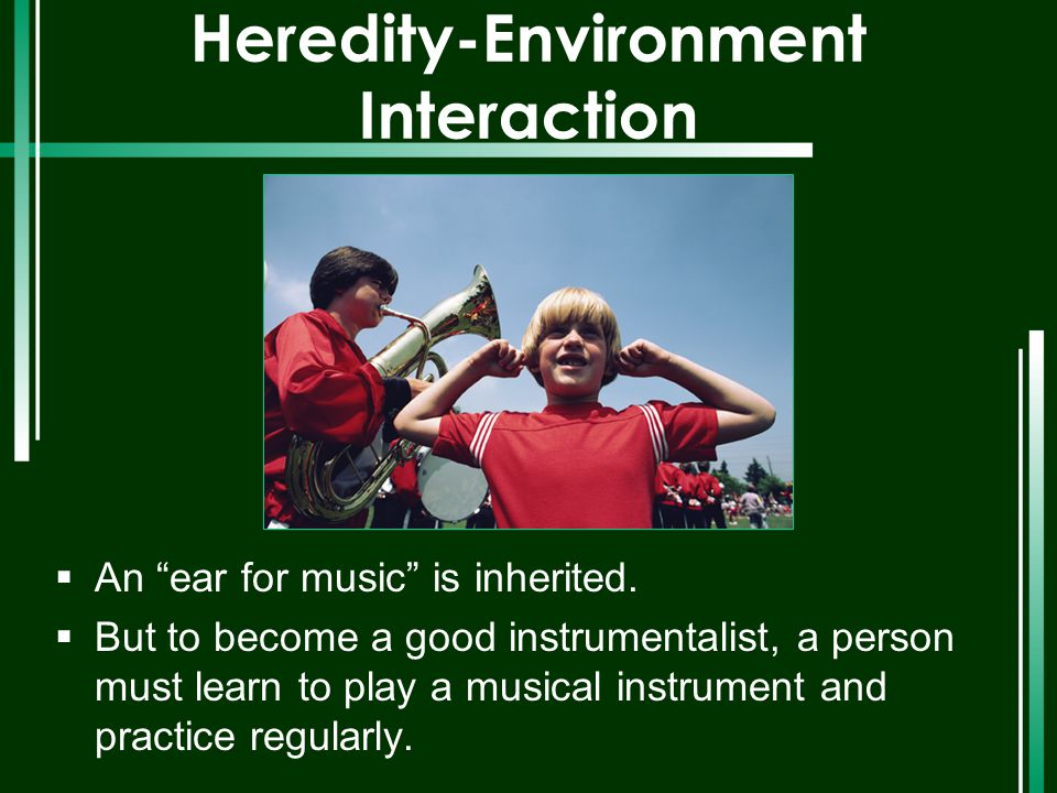 Heredity-Environment Interaction