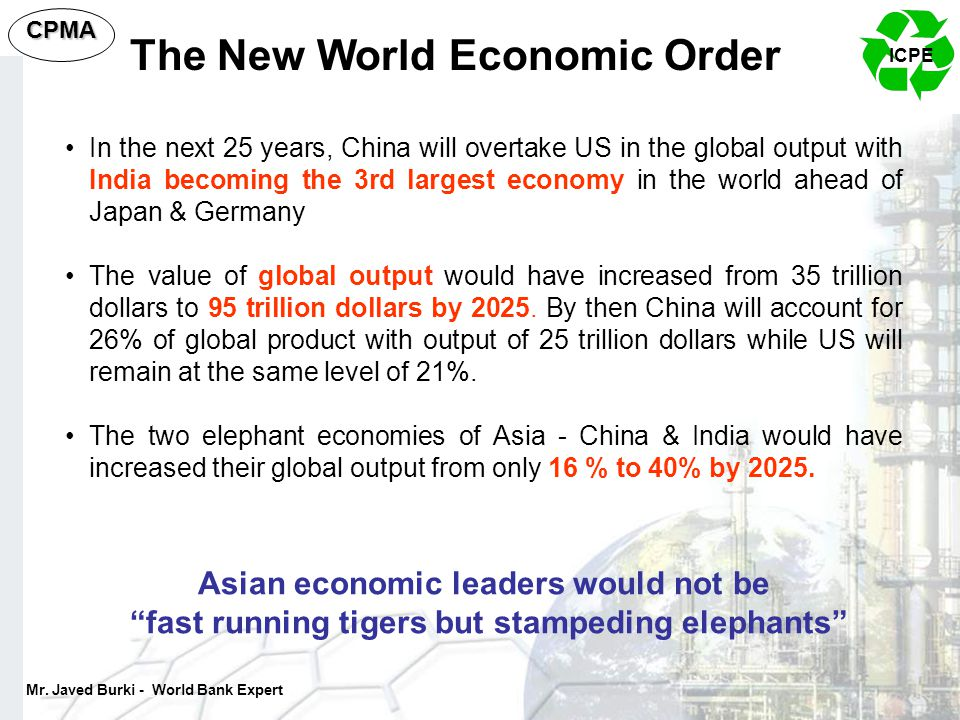 The New World Economic Order