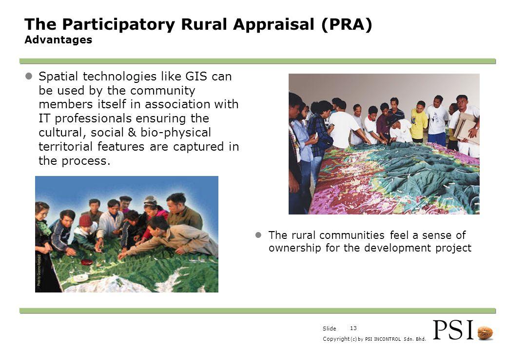 The Participatory Rural Appraisal (PRA) Advantages