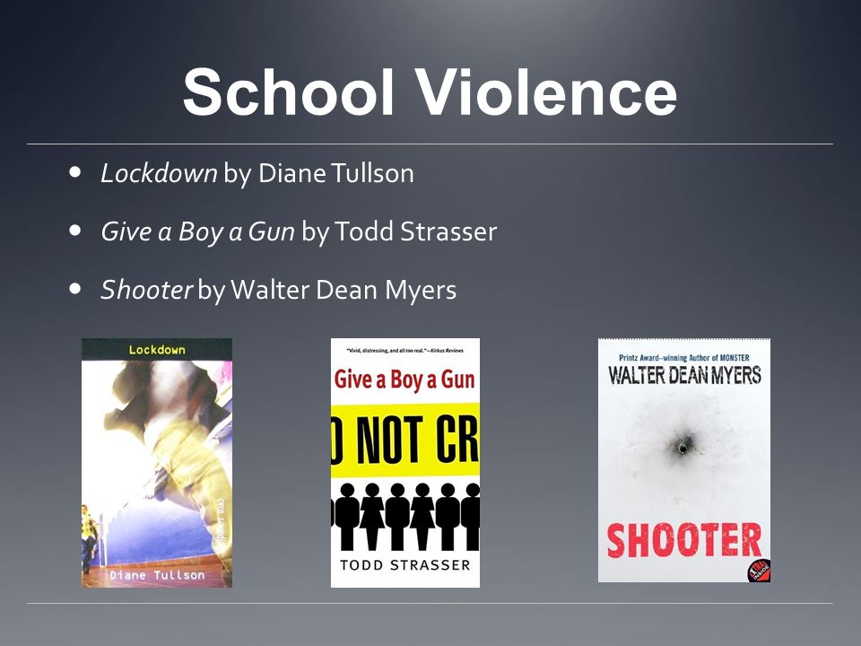 School Violence Lockdown by Diane Tullson