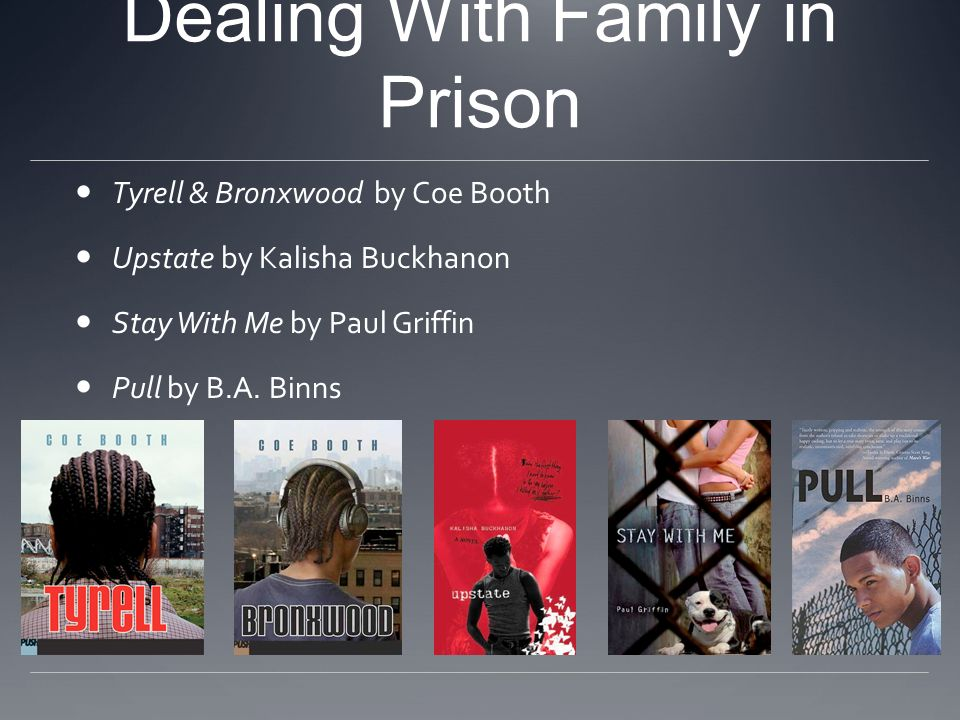 Dealing With Family in Prison