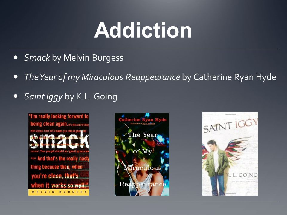 Addiction Smack by Melvin Burgess