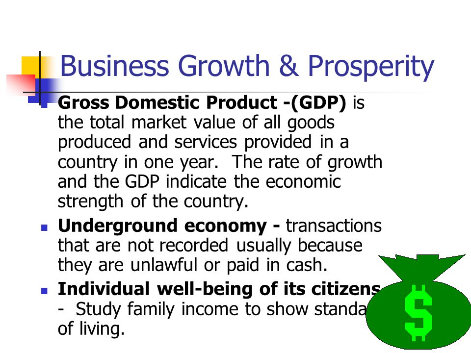 Business Growth & Prosperity
