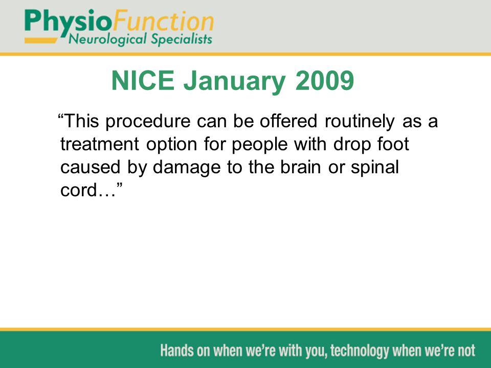 NICE January 2009