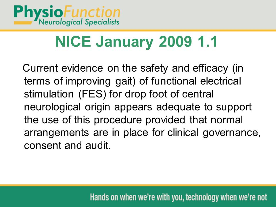 NICE January 2009 1.1