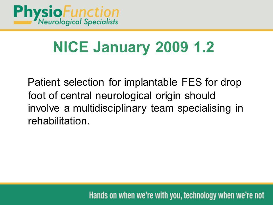 NICE January 2009 1.2