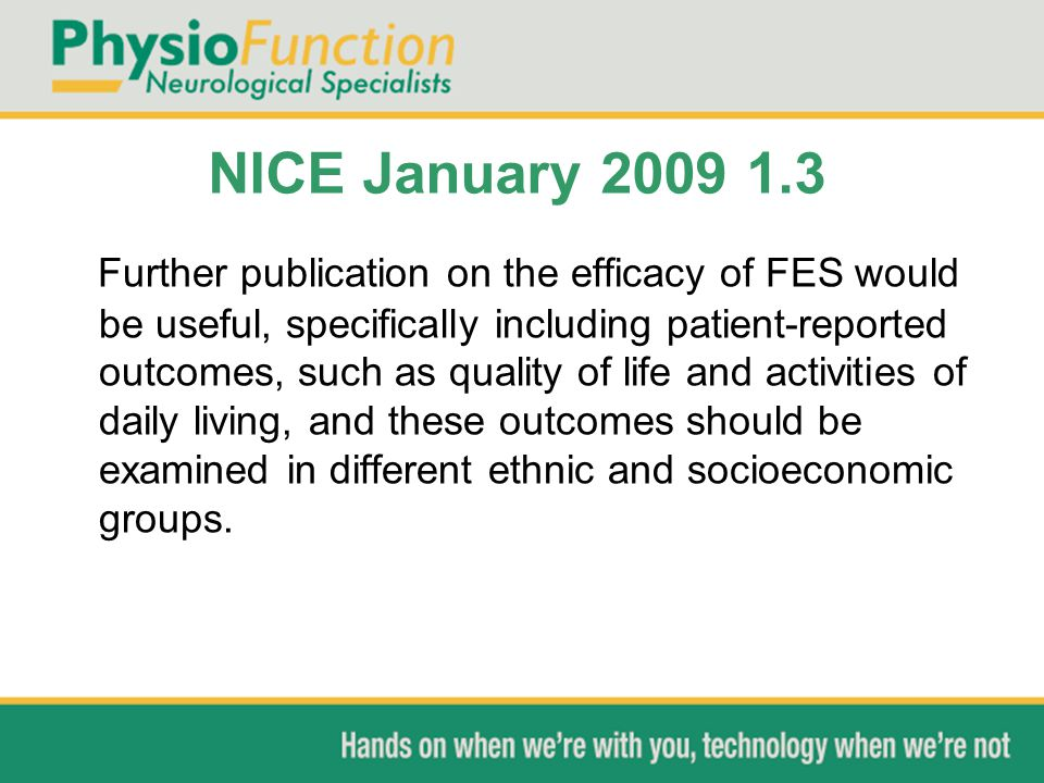 NICE January 2009 1.3