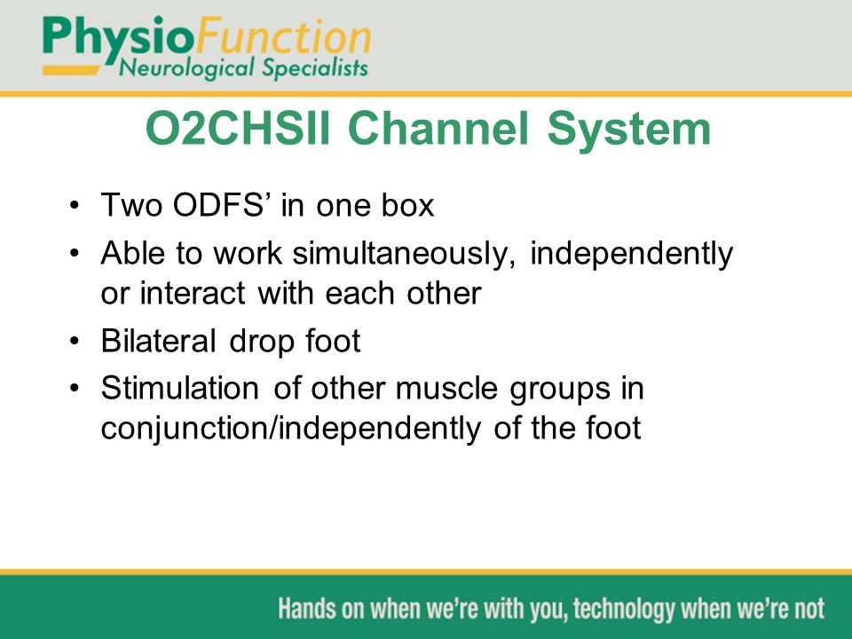 O2CHSII Channel System Two ODFS' in one box