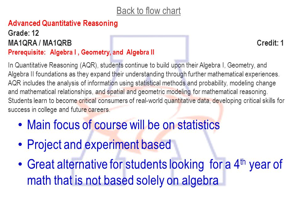 Main focus of course will be on statistics