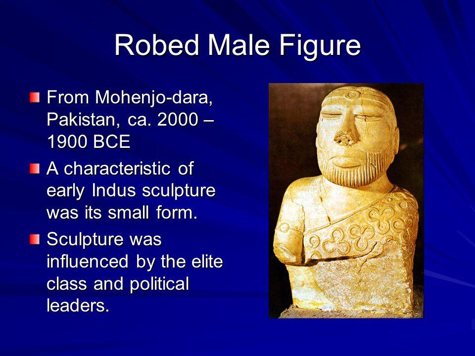 Robed Male Figure From Mohenjo-dara, Pakistan, ca. 2000 – 1900 BCE