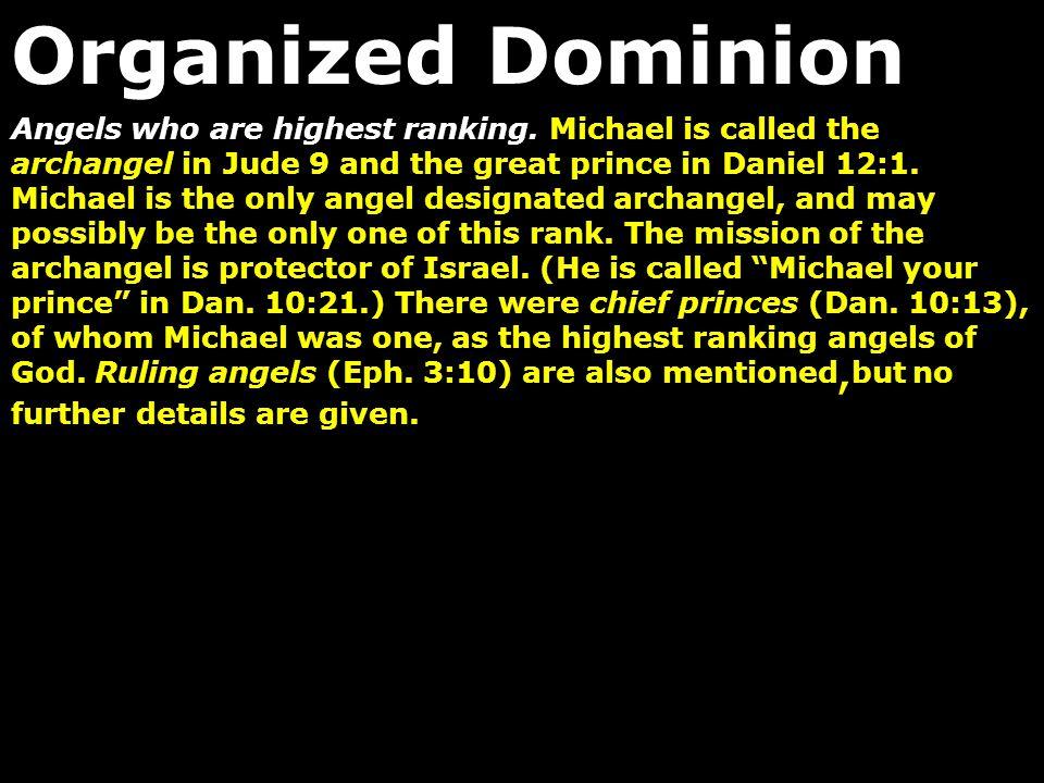 Organized Dominion