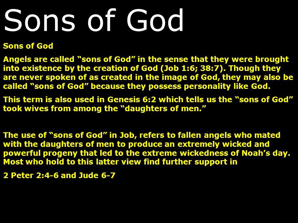 Sons of God Sons of God.