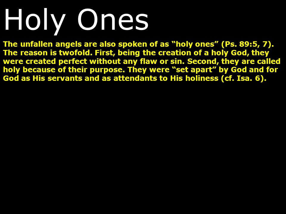 Holy Ones