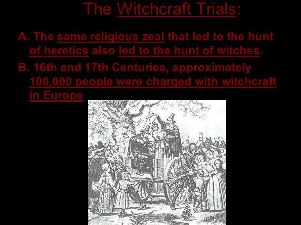 5. The Witchcraft Trials: