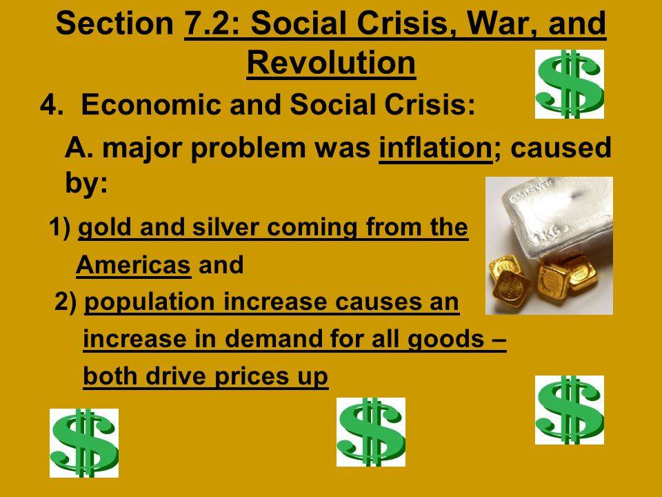 Section 7.2: Social Crisis, War, and Revolution