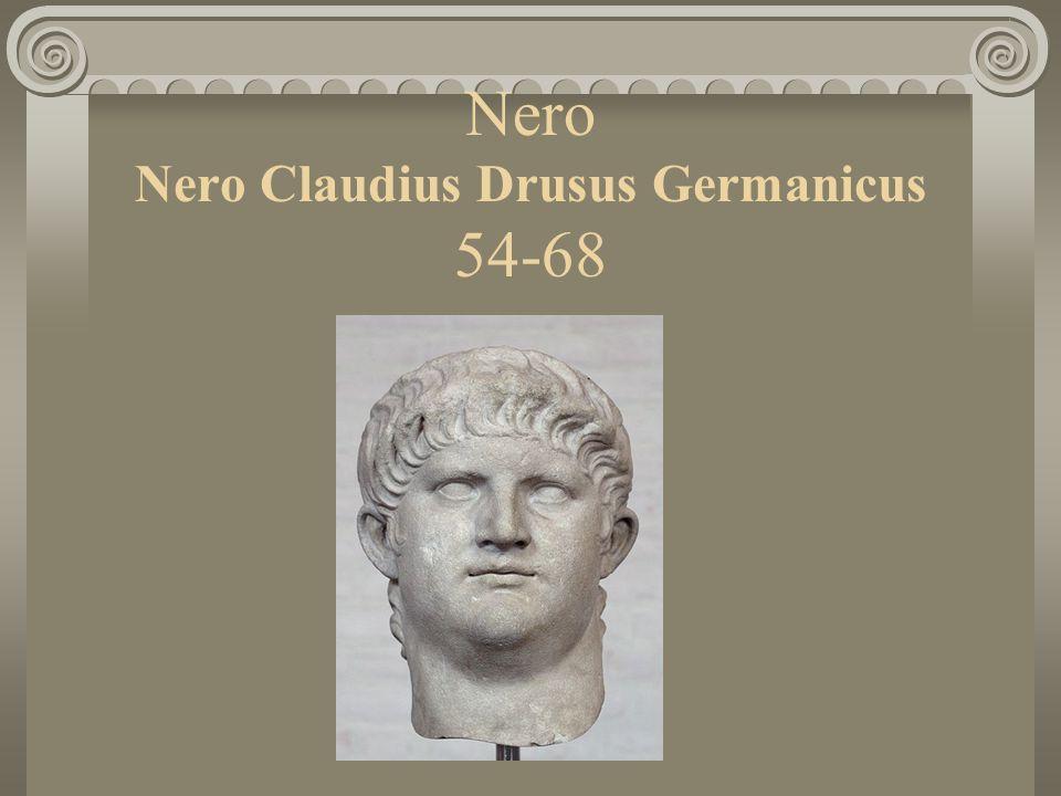 Nero Nero Claudius Drusus Germanicus 54-68