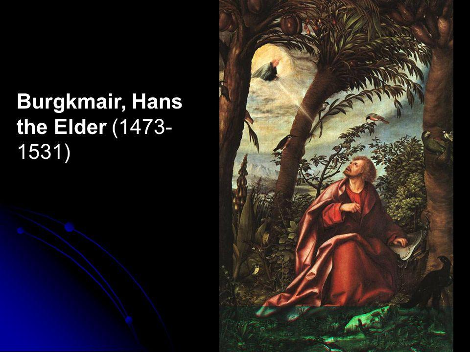 Burgkmair, Hans the Elder (1473-1531)