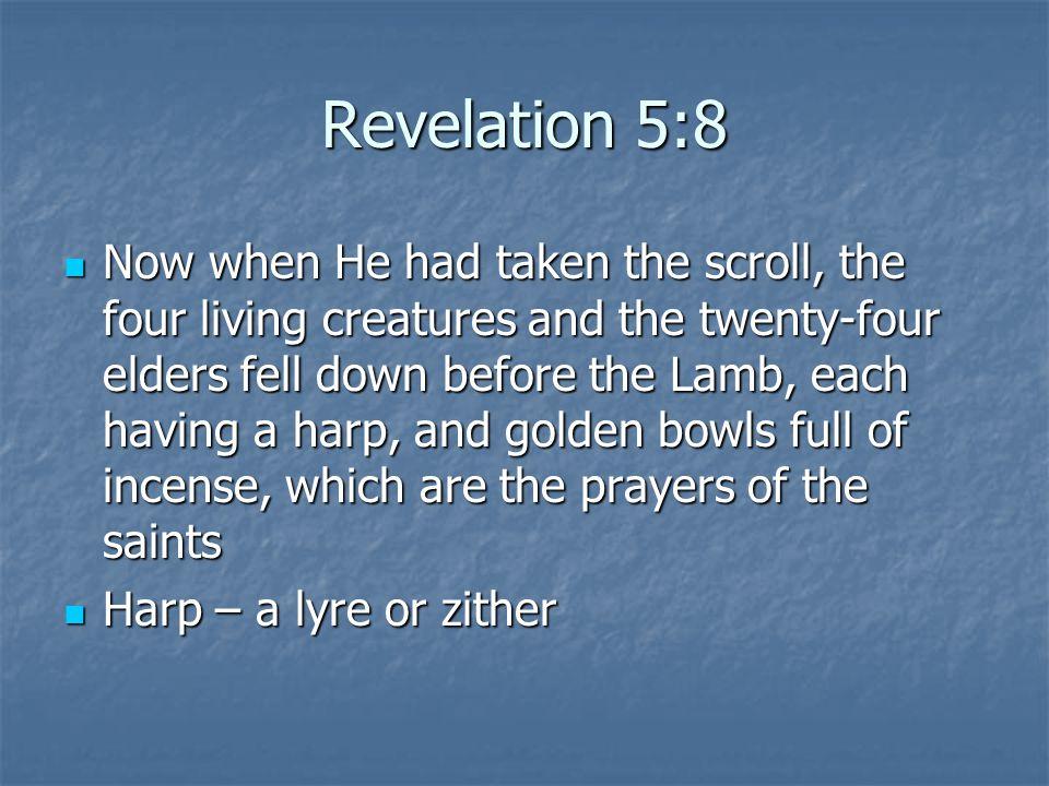 Revelation 5:8