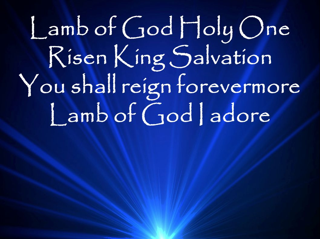 You shall reign forevermore