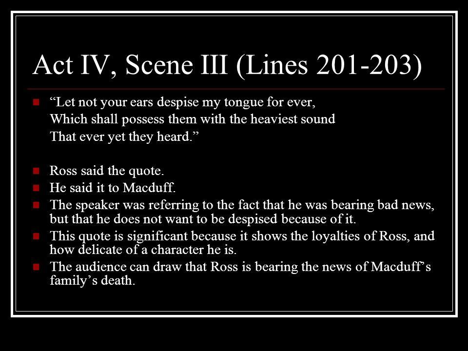 Act IV, Scene III (Lines 201-203)