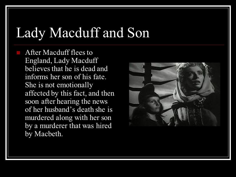 Lady Macduff and Son