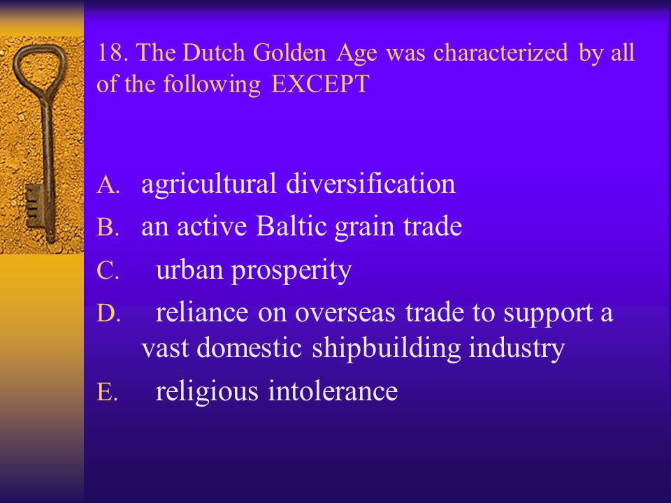 agricultural diversification an active Baltic grain trade