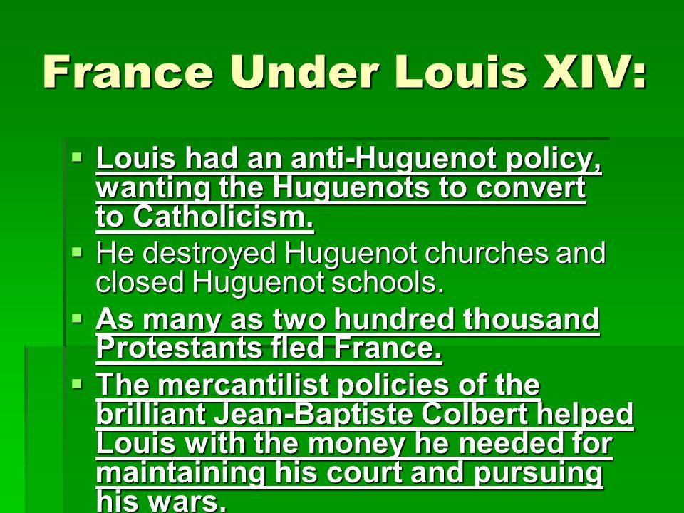 France Under Louis XIV: