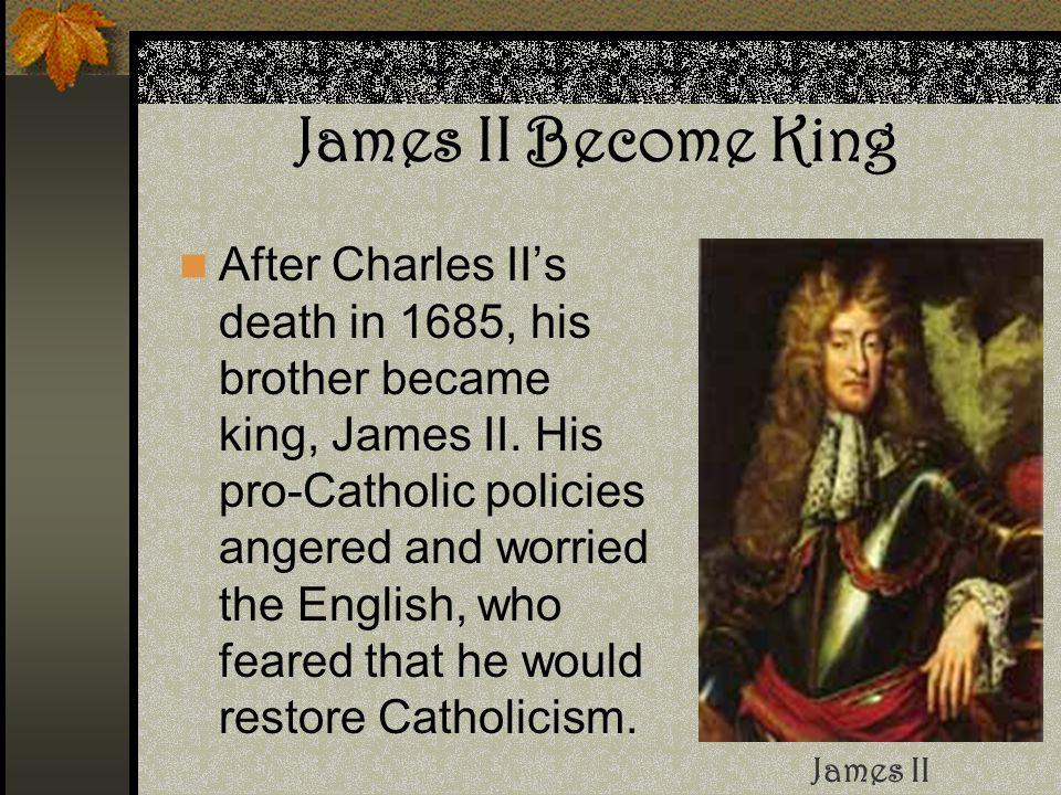 James II Become King