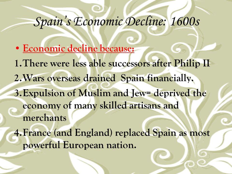 Spain's Economic Decline: 1600s