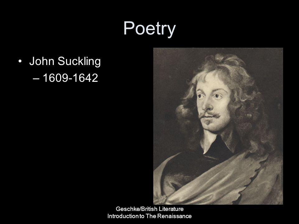 Geschke/British Literature Introduction to The Renaissance