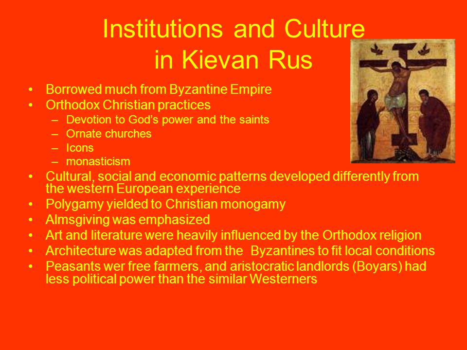Institutions and Culture in Kievan Rus