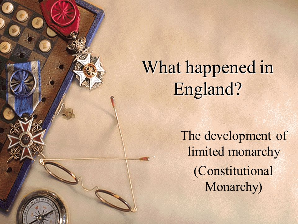 What happened in England