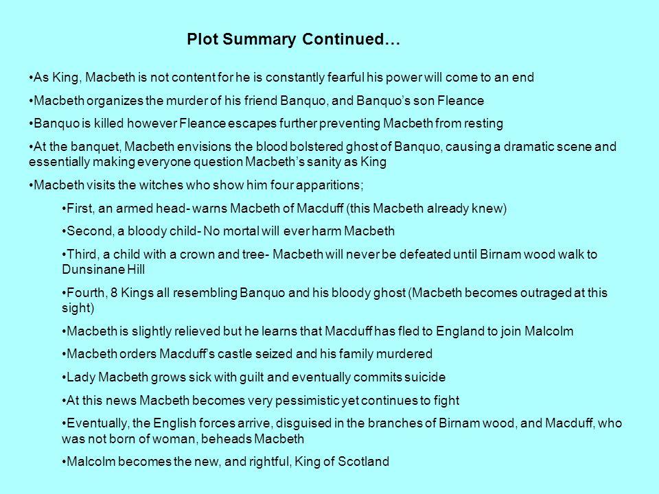 Plot Summary Continued…