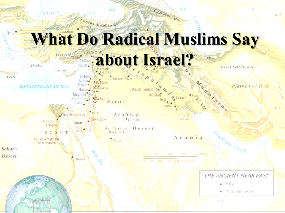 What Do Radical Muslims Say about Israel