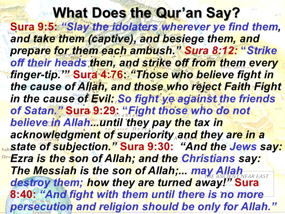 What Does the Qur'an Say