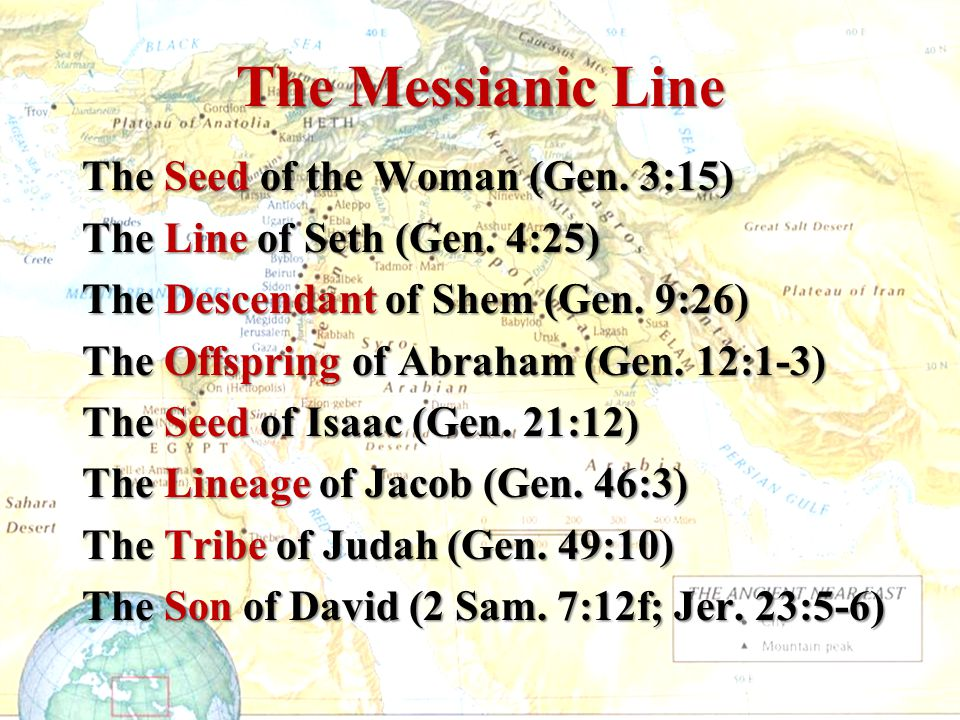 The Messianic Line