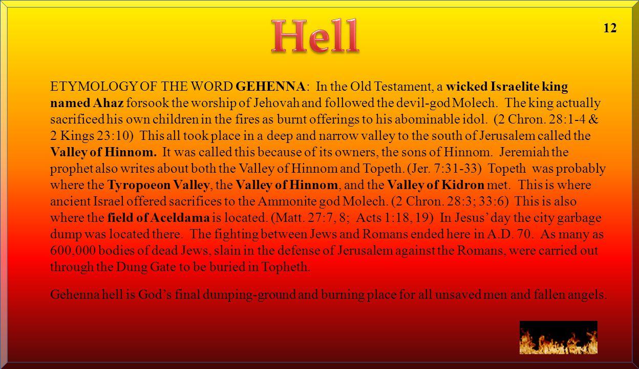 Hell 12.